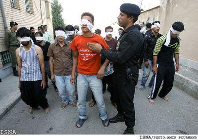 معروف لحظه دستگیری فیلم طرح جدید پلیس زورگیران تهران زورگیران دی ماه 91 دستگیری ارازل اوباش ارازل و اوباش