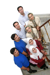 عکس : ازدواج دوقلوهای ایرانی