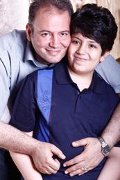 عکس و گفتگو با رضا جاودانی و همسرش