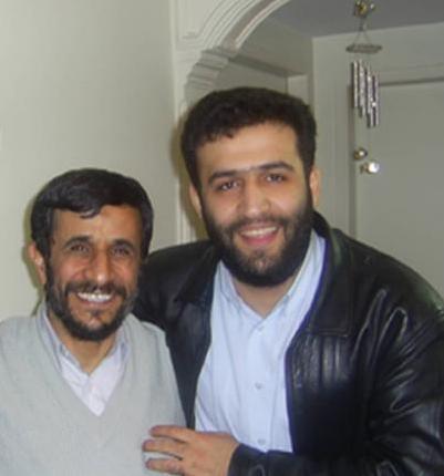 عکس : احمدی نژاد و باجناقش
