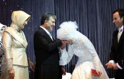 تصاویر: مراسم ازدواج دختر عبدالله گل