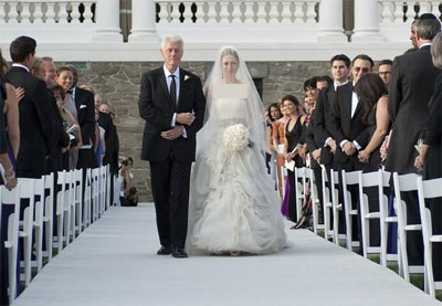 عروسی دختر کلینتون (گزارش تصویری)