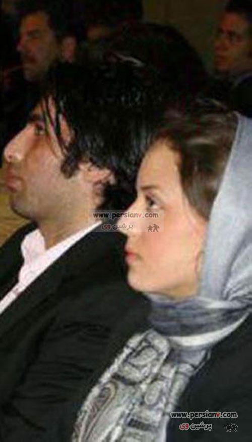 عکس : حمید گودرزی و همسرش در میوه فروشی !
