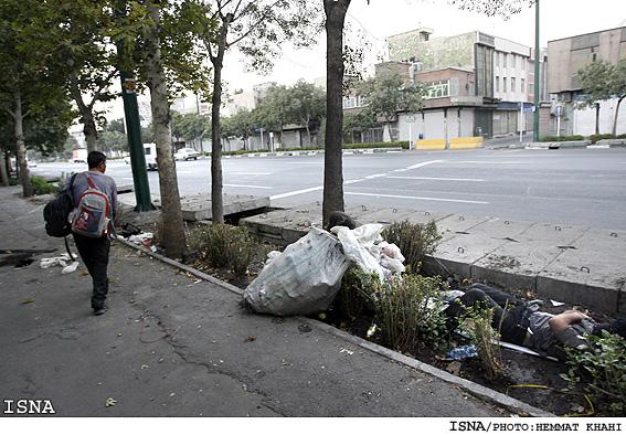 زير پوست تهران زخمهايي است...