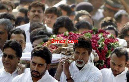عکس: مراسم فوت مادر آمیتا باچان