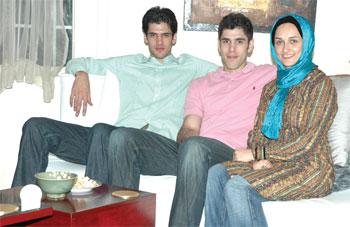 همسر صمد نیکخواه بهرامی بیوگرافی صمد نیکخواه بهرامی اینستاگرام بسکتبالیست ها Samad Nikkhah Bahrami