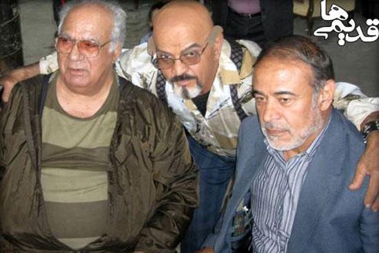 عکس های جدید ناصرملک مطیعی به همراه بازیگران ساختمان 85