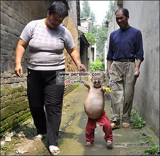 عکس های تکان دهنده از دختری یکساله که 9 ماهه باردار است