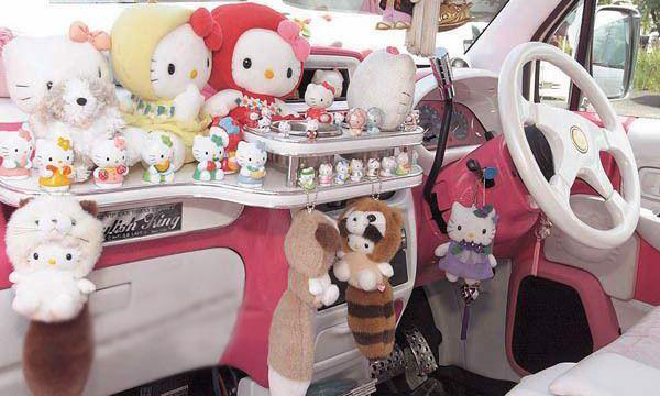 عکس :ماشين مخصوص دختر خانم ها !