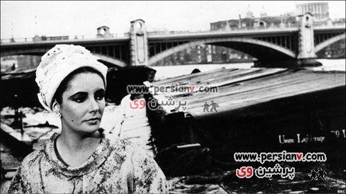عکسهایی از تشییع جنازه الیزابت تیلور
