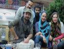 عکسهای دیدنی شریفی نیا و مهناز افشار در پشت صحنه فیلم