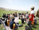 اینجا اردوی مختلط دانشجوئی در دانشگاه آزاد