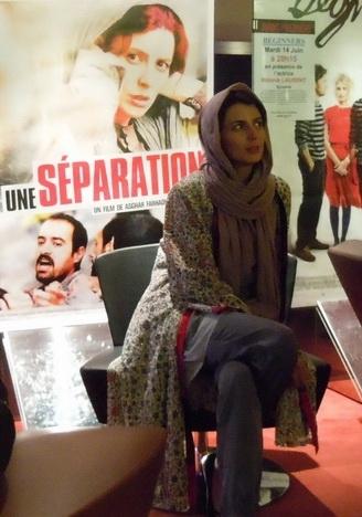 تصاویر: لیلاحاتمی در پاریس برای اكران فیلم