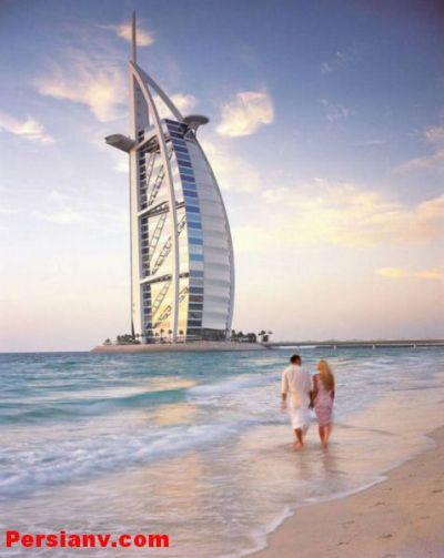 گزارش تصویری: دومین هتل هفت ستاره دنیا