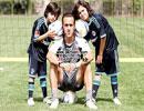 عکس های دیدنی از فوتبالیست های مشهورایرانی همراه فرزندانشان
