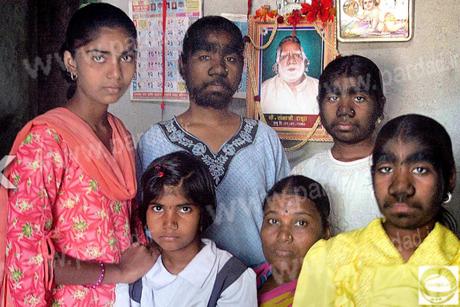 تصاویری عجیب از زشت ترین دختران هندی !!
