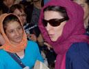 عکسهای تماشایی از حضور لیلا حاتمی در جمع هواداراناش در سینما ایران