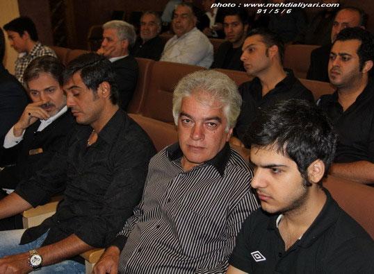 مراسم ختم مادر مجید صالحی با حضور بازیگران سینما