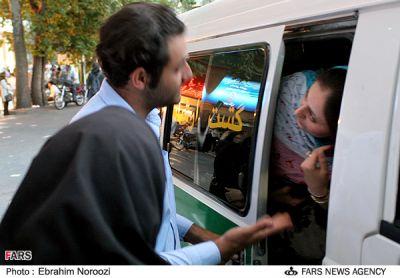 عکس : مبارزه با بدحجابی ولیعصر تهران