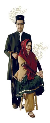 عکس جالب کارت عروسي دختر شريفينيا