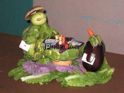 عکس : سبزی آرایی ، میوه آرایی ،غذا آرایی