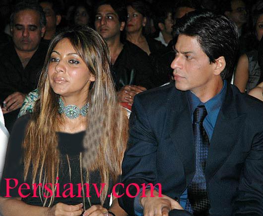 عکس : شاهرخ خان به همراه همسرش