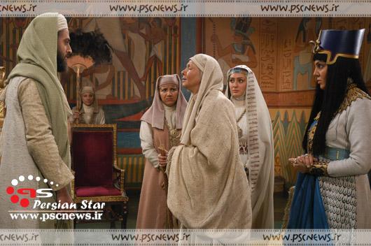 عکسهای الهام حمیدی در سریال یوسف پیامبر