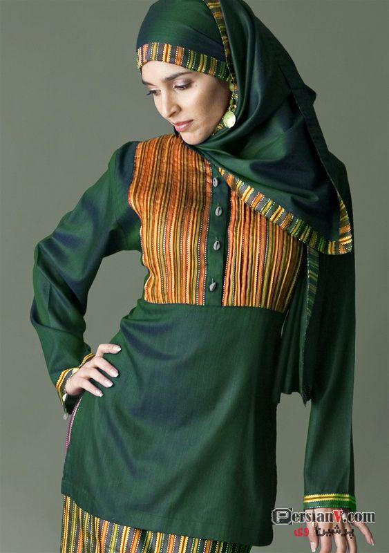 مدل مانتو نخی تک رنگ تابستانه عکس مدل هاي لباس براي زنان مسلمان