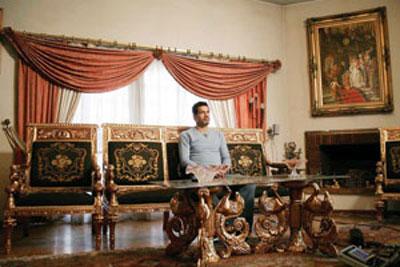 عکس : علی دایی در خانه اش
