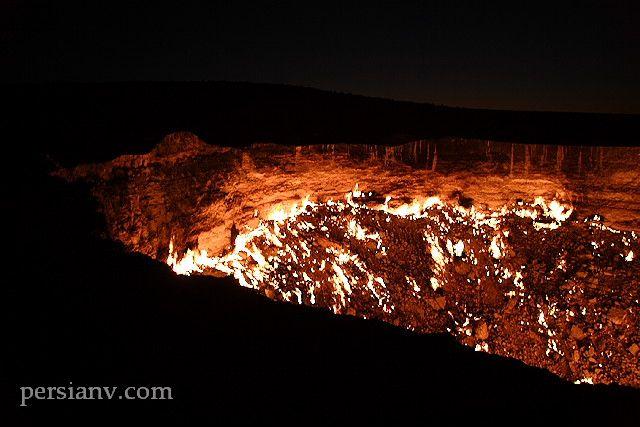 عکسهای عجیب و دیدنی از در جهنم !
