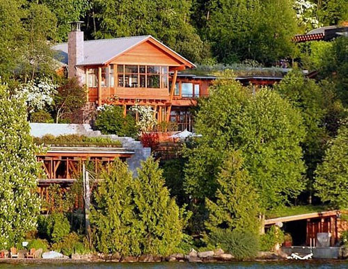 عکس : منزل شخصی بیل گیتس !