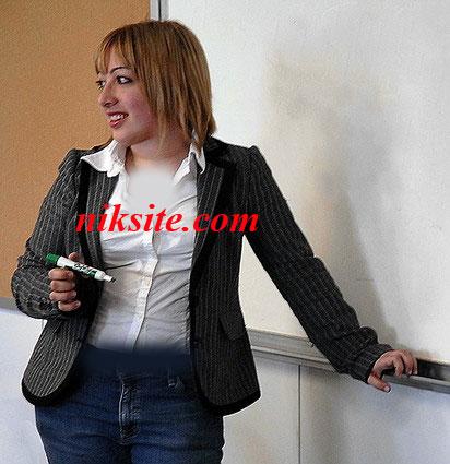 عکس : دختر 19ساله ایرانی جوانترین پروفسور زن در دنیا