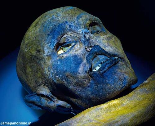 عکس : کشف جسد مرد يخي بعد از 5000سال