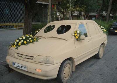 عکس : ماشین عروس دیدنی !