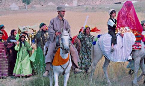 عکس : عروسی قشقایی ها ...