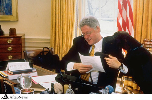 Bill Clinton &amp Buddy