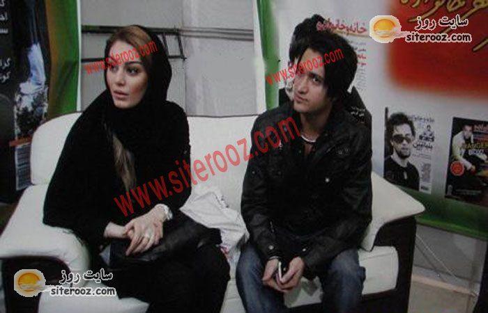 عکس دیدنی از سحرقریشی (یلدای دلنوزان) و همسرش