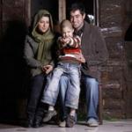 شهاب حسینی و همسرش و پسرش