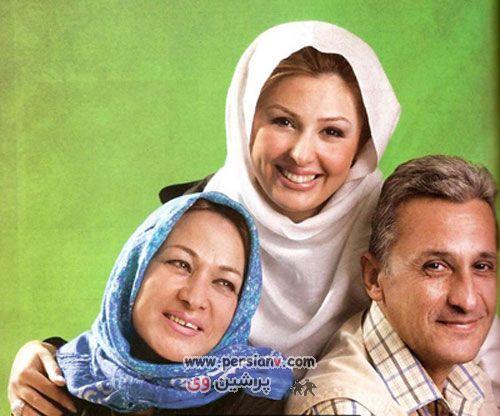 عکس های دیدنی ازهنرمندان مشهور ایرانی به همراه پدر و مادرشان
