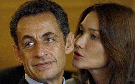 عکس : رسوایی اخلاقی سارکوزی و همسرش