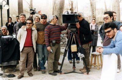 عکسهای دیدنی پشت صحنه فیلم کلاغ پر