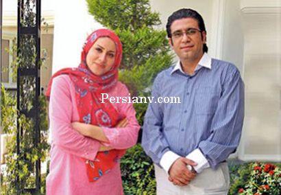 عکس : رضا رشیدپور و همسرش