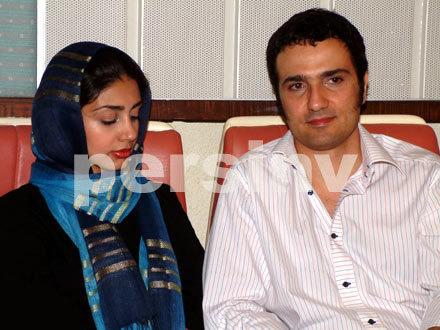 عکس : محمد رضا فروتن و همسرش