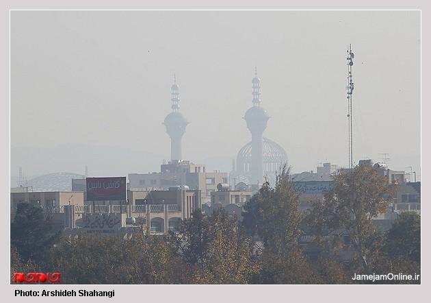 مانتو سنتی اصفهان تصاویر: آلودگي هواي شهر اصفهان