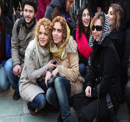 عکس+دختر+فراریهای+تهران