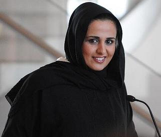 عکس دختر مقام قطری که در خانه فساد بازداشت شد
