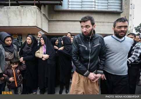 تصاویر: دستگیری اراذلواوباش و زورگیران پایتخت