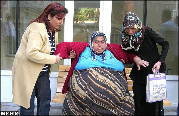 عکس : سنگین وزن ترین زن جهان