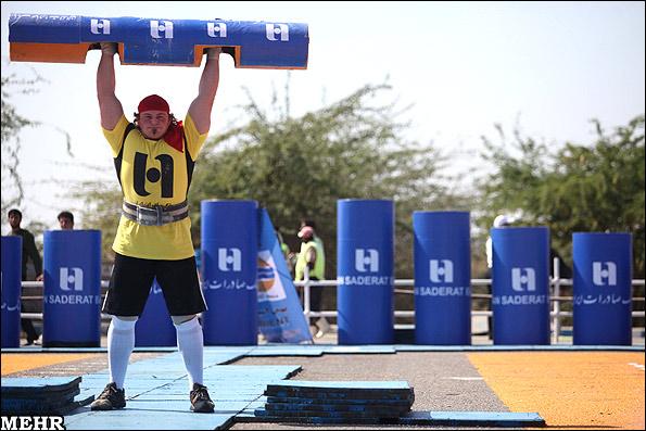 قویترین مردان جهان 2014 مسابقات قویترین مردان جهان در قشم - آری فان