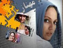 عکس جالب از مهناز افشار با جایزه و لباس فیلم یک عاشقانه ساده